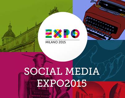 Expo 2015 ( Social Media Team Art Direction )