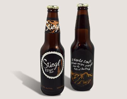 Stiegl Craft Beer Rebrand