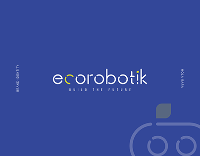 Ecorobotik - Brand identity design