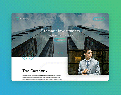 Fitamant Investments brand identity and webdesign