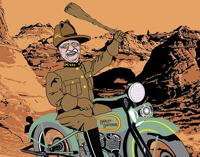 Ride Softly - Adobe Illustrator