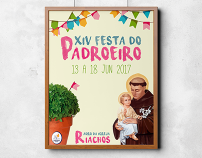 Design | XIV Festa do Padroeiro | 2017