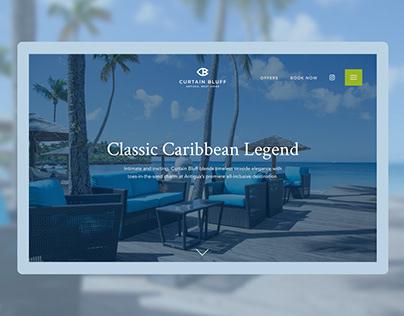 UX/UI Design - Curtain Bluff Luxury Resort in Antigua