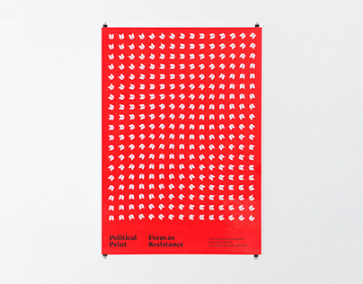 Political Print Lecture Poster