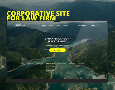 Website for Law office