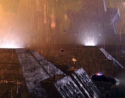 Blade Runner (mood sketches)