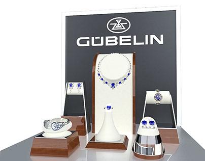 Gubelin Jewelry Display