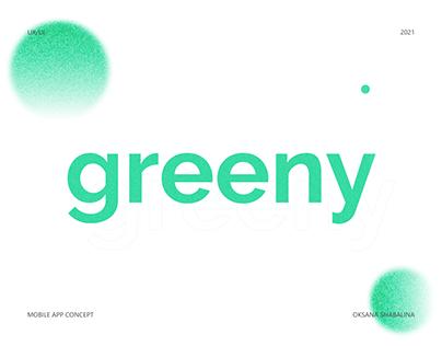 Greeny App - UX/UI