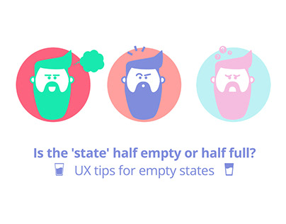 UX tips for empty states