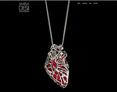 Marla Desii Website - Jewelry Designer
