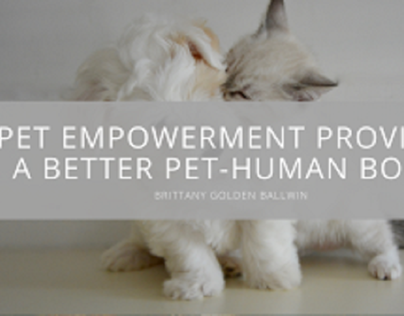 Brittany Golden Ballwin Explores Pet Empowerment and