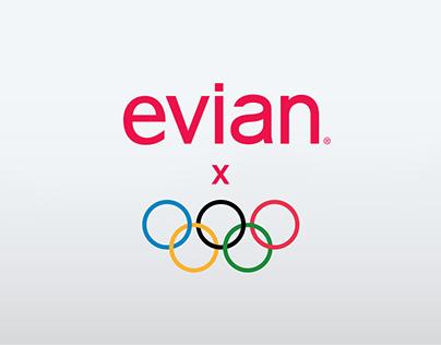 Evian x Jeux Olympiques