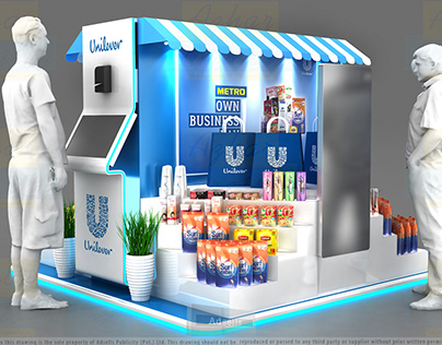Unilever Business Day Kiosk