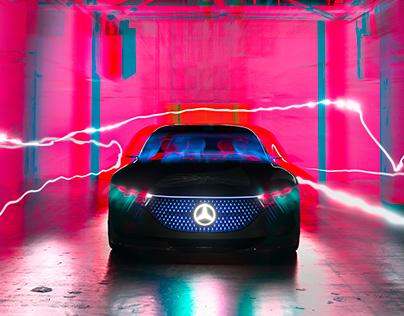 Mercedes-Benz EQS in Japan