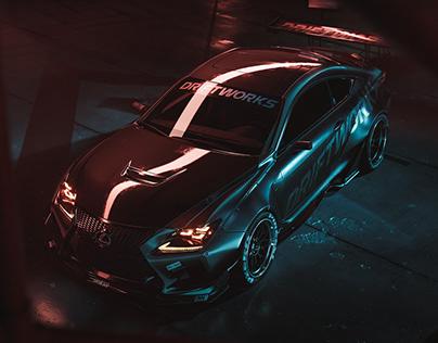 DRIFTWORKS Lexus RC-F | UE4 | RTX