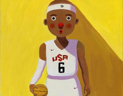 """Sun lisha """"a beautiful life basketball James"""""""