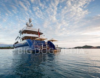 M/Y LA DEA II shoot, Corsica