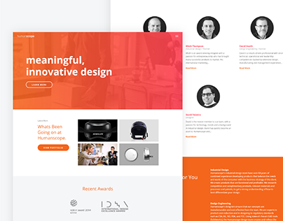 Humanscope | Web Design