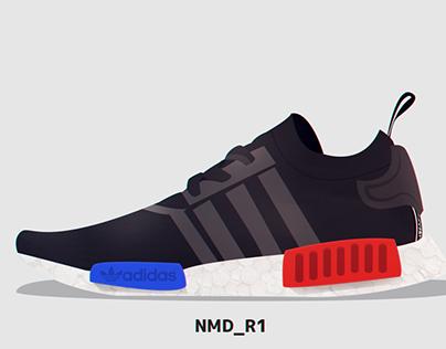 Adidas NMD_R1 Advertisement