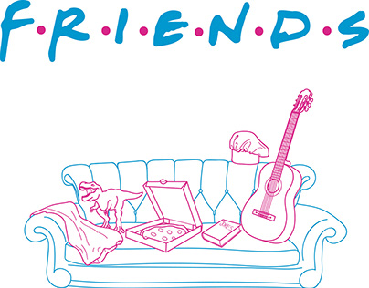A series of TV series // Friends