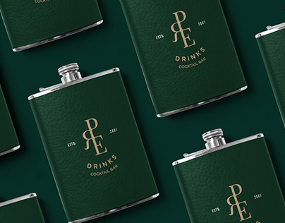 Brand Identity for Pre-Drinks Cocktail Bar