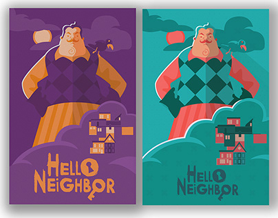 Hello Neighbor Poster