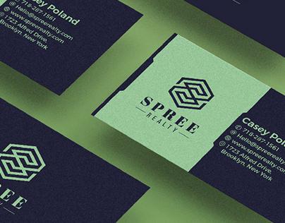 Spree Realty Brand Identity Design