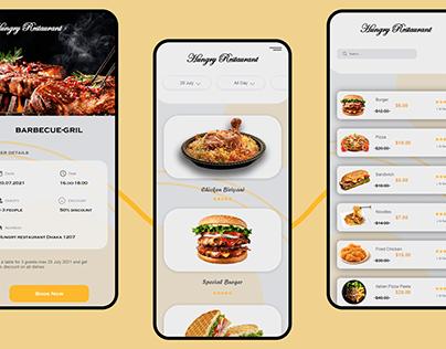 Restaurant Food App UI Design