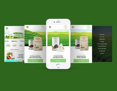 Ui design for a Tea App