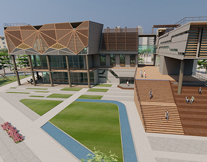 Sustainable Central Library Project
