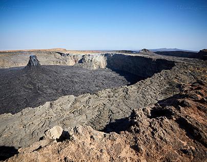 Erta Ale Lave Plateau - North Pit -