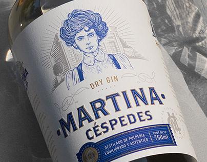 Dry Gin Martina Céspedes