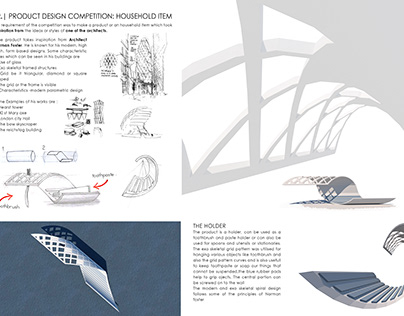 Product for a reknowned Architect: Norman Foster