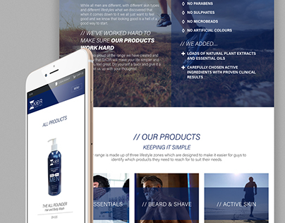 Online Store/Website Design :: SKOR