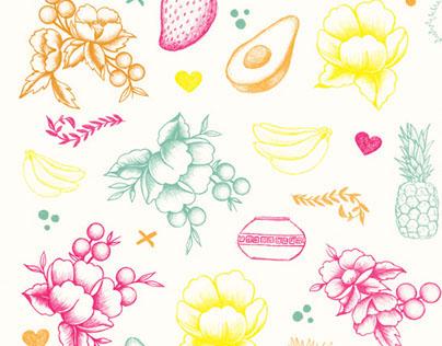 Paquetes Illustrations