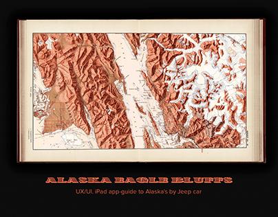 Alaska Eagle Bluffs – iPad app-guide to Alaska's