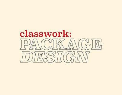 Classwork: Package Design