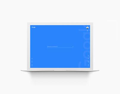 Google Search Design Concept