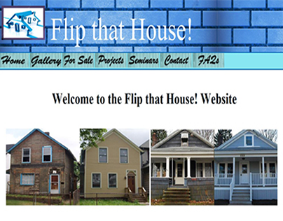 Flip That House Website Project for class