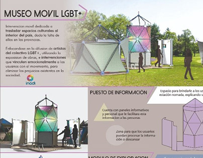 Museo Movil - Proyecto Diseño IV, Cátedra Sanguinetti