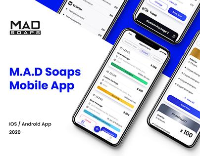 M.A.D Soaps / Mobile App