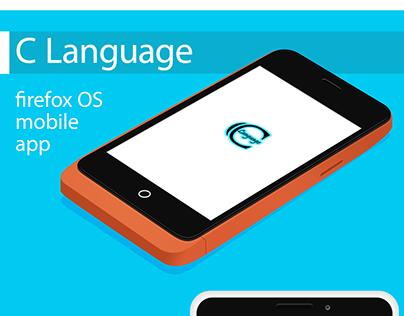 C Language firefox OS app redesign