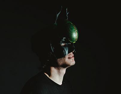 Skarabäus Deep Techno DJ - Artist Studio Shooting