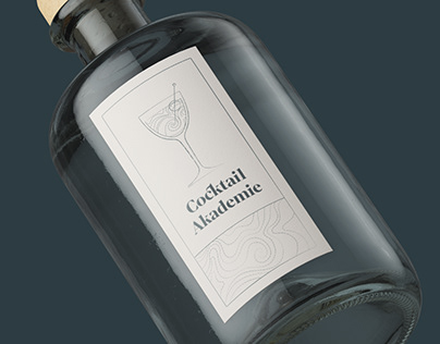 Visual identity for Cocktail Akademie