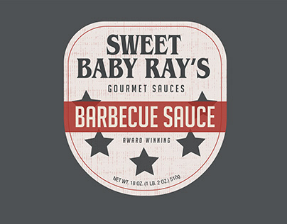 Sweet Baby Ray's Packaging Redesign