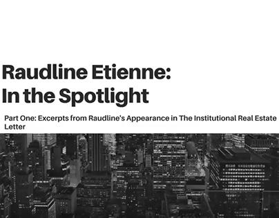 Raudline Etienne in the Spotlight