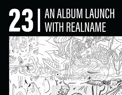 Realname - 23 | Album Launch
