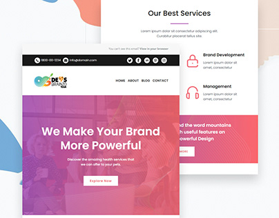 Responsive Email Template Design & Automation