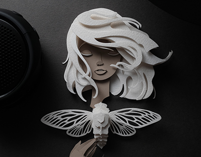 Papercut Nymphs