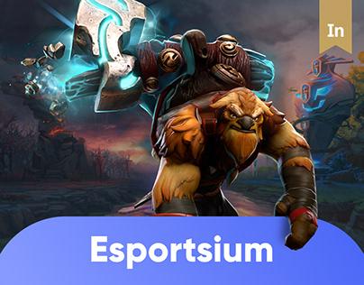 Esportsium App UX/UI